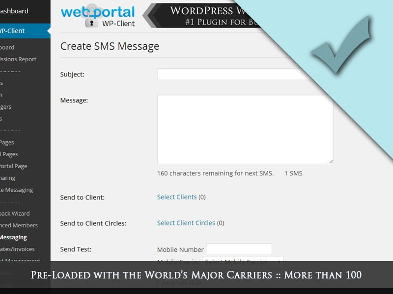 WordPress Client Portal Area, Invoicing & Project Management Plugin ...