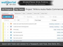Add and Assign Tasks with WordPress